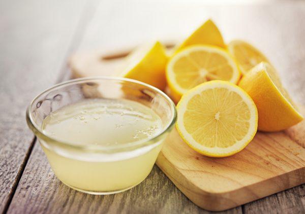 Уксусно-лимонная маска