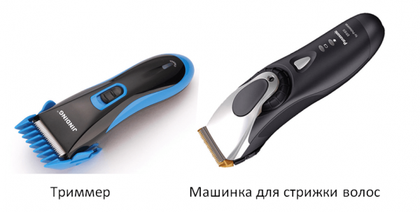 Триммер и машинка для стрижки волос