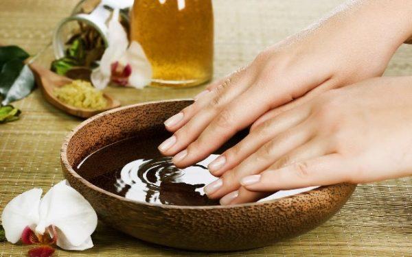 кунжутное масло для рук и ногтей