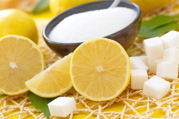 Лимон и сахар