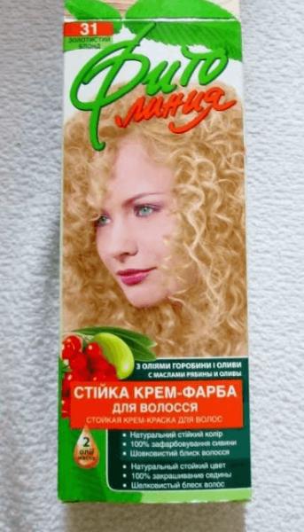 Осветляющая краска для волос Фито Линия