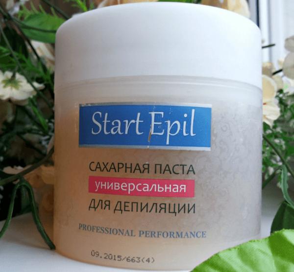 pasta-start-epil-600x556 Какая сахарная паста для шугаринга лучше: отзывы и результаты применения