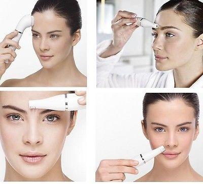 Применение эпилятора на разных участках лица