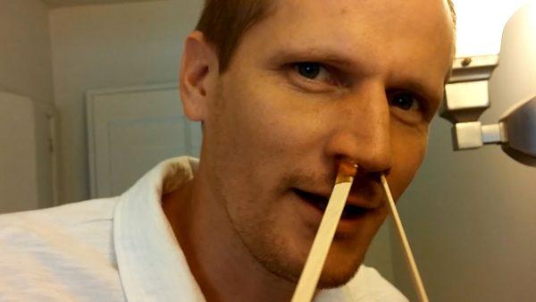 Шугаринг носа