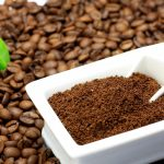 Молотый кофе в ёмкости