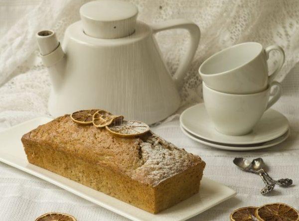 чай и кекс