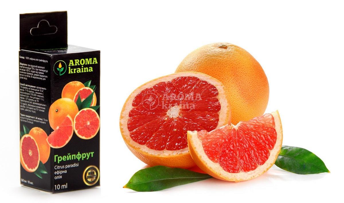 Эфирное масло грейпфрута: основные свойства, применение в медицине, косметологии и ароматерапии