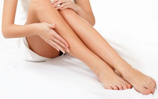 Ноги без лишней растительности