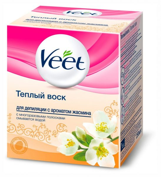 Воск для депиляции Veet