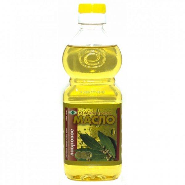 Бутылка лаврового масла