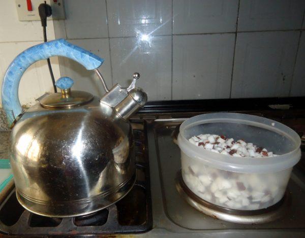 Как сделать кокосовое масло, шаг 3