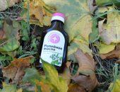 Репейное масло в листьях