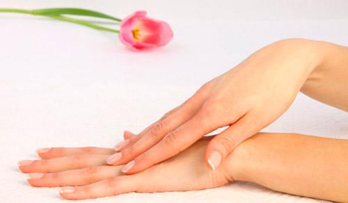 Нежная кожа рук