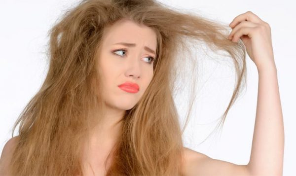сухие и безжизненные волосы
