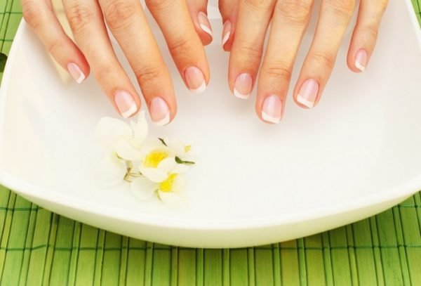 Ванночка для ногтей и руки