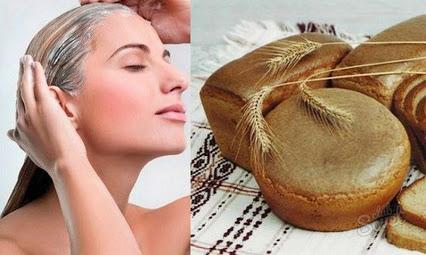 хлебная маска с мятным эфиром