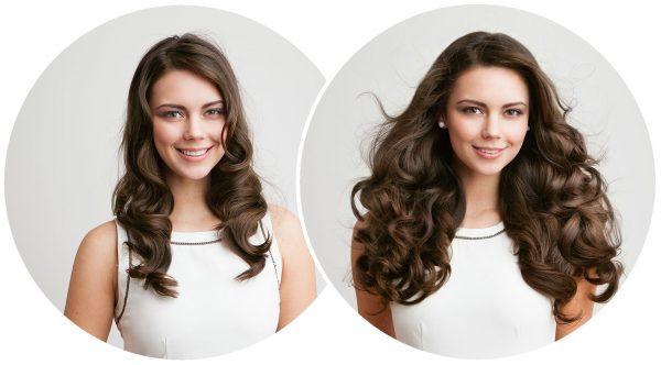 фото до и после четырёх курсов самомассажа с мятным маслом