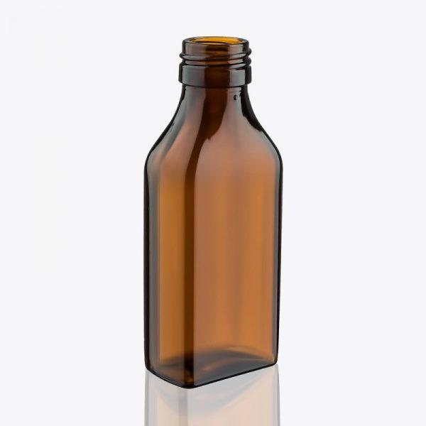 Бутылка из тёмного стекла