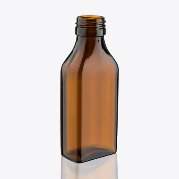 Бутылочка из тёмного стекла