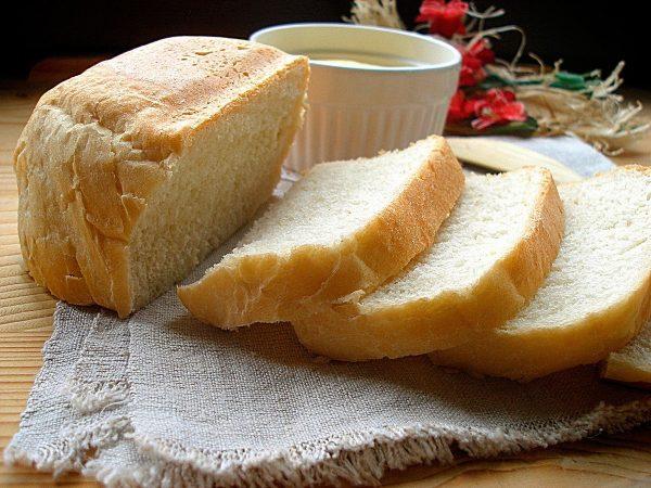 Мякиш белого хлеба