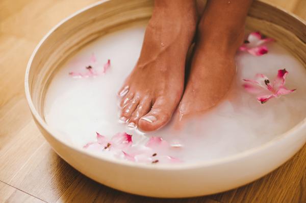Мыльная ванночка для ног