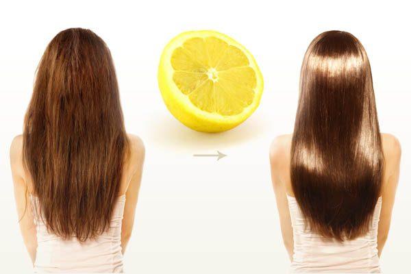 Придание волосам блеска