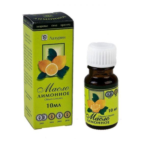 Упаковка лимонного масла