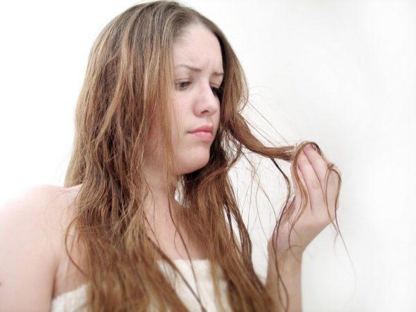 волосы смешанного типа