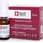 TETe Cosmeceutical биокомплекс для коррекции второго подбородка