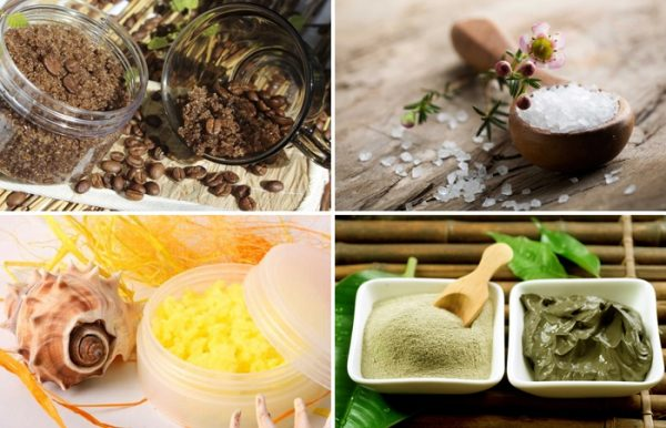 Ингредиенты для домашнего пилинга
