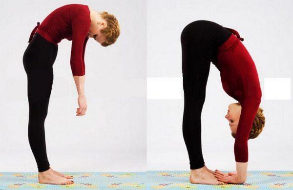 Упражнение на растяжку спины