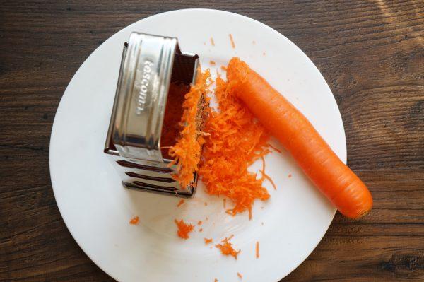 Морковь на тёрке