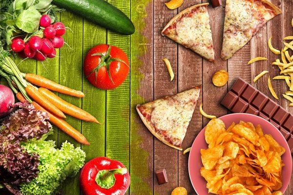 Полезная и вредная еда