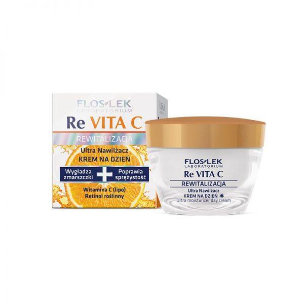Floslek Re Vita C Ультраувлажняющий крем дневной 40+
