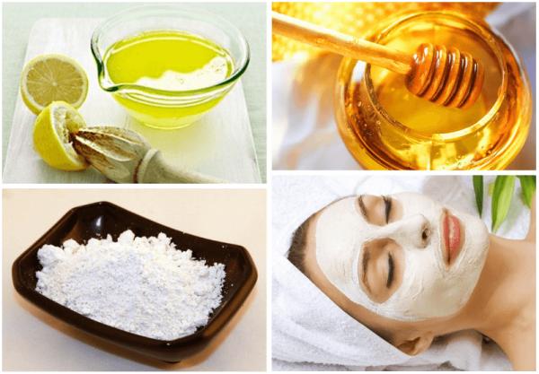 Ингредиенты для домашних масок