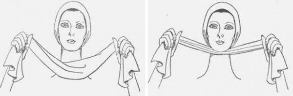 Массаж полотенцем