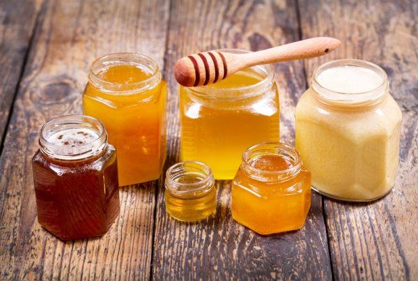 Разные виды мёда