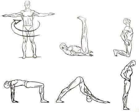 Тибетская гимнастика