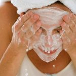 Смываем маску