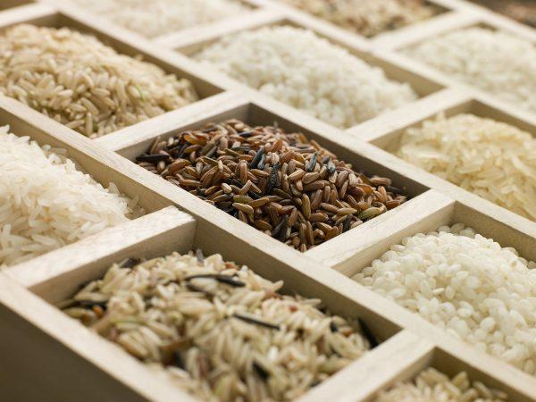 Рис различных сортов