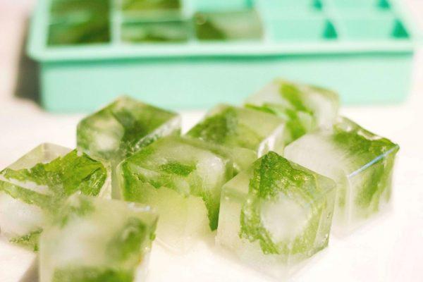 Кубики косметического льда