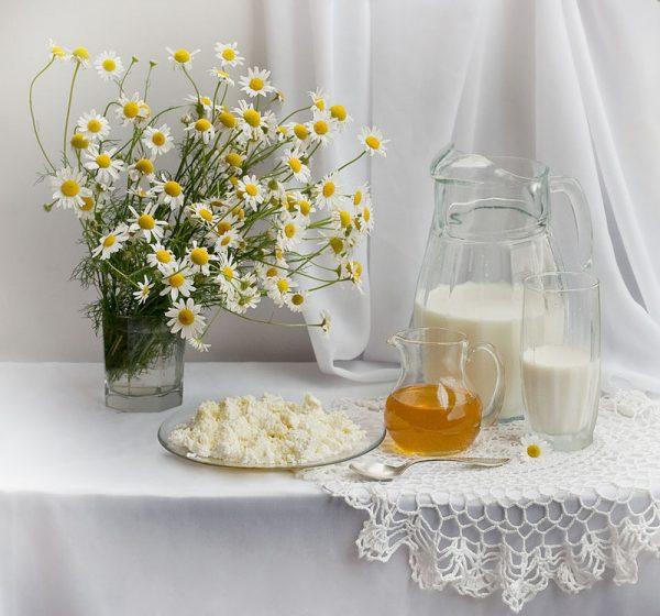 Творог и мёд