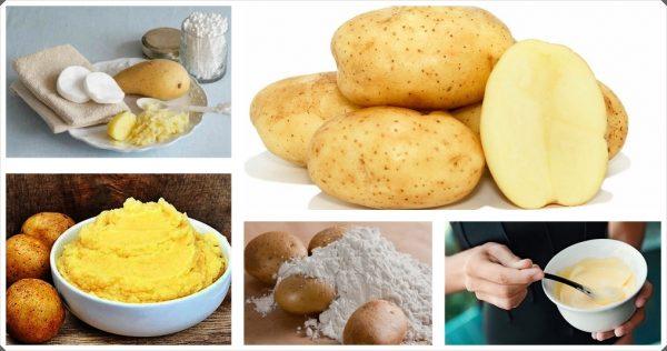 Картофель и крахмал