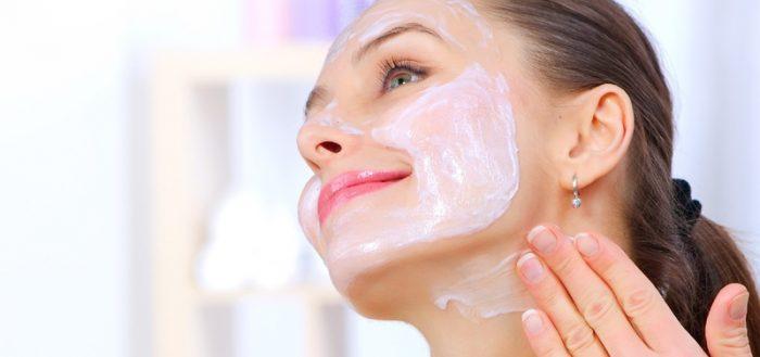 Лицо увядающая кожа