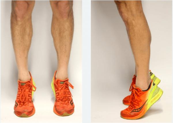 Подъём на носки