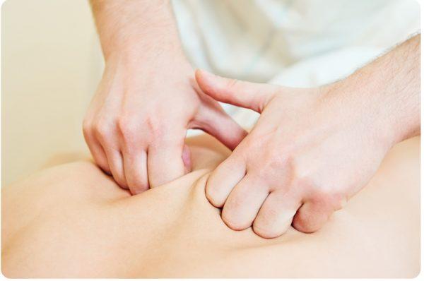 Массаж костяшками пальцев