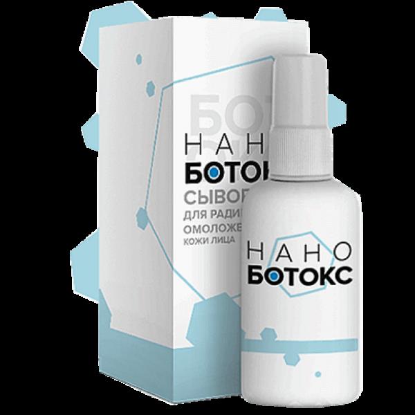 Сыворотка для радикального омоложения кожи лица Нано-Ботокс от ООО «Солярис»