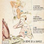 Реклама семейного крема Diadermine из далёого прошлого