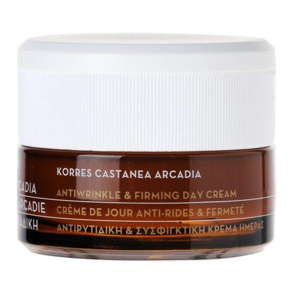 Укрепляющий крем KORRES Castanea Arcadia