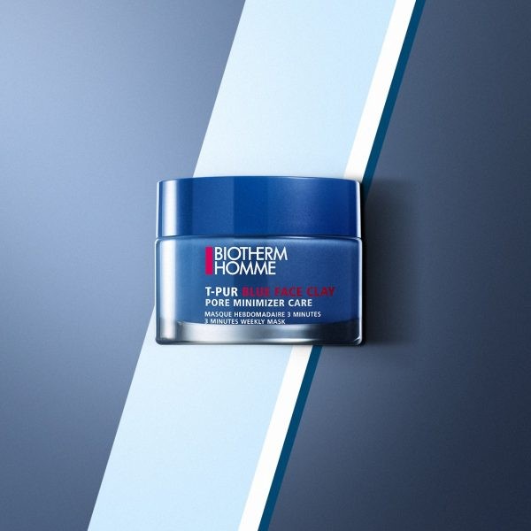 T-Pur Blue Facial Clay от Biotherm